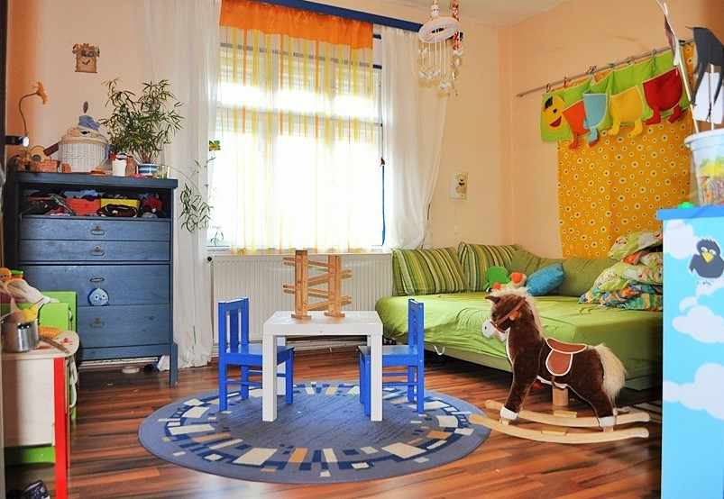 6 farieb vhodných pre detskú izbu